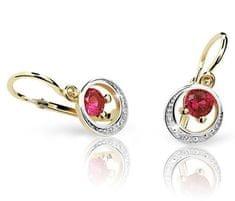 Cutie Jewellery Gyermek fülbevaló C1997-10-X-1 sárga arany 585/1000