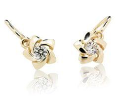 Cutie Jewellery Gyermek fülbevaló C2201-10 sárga arany 585/1000