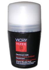 Vichy dezodorant piłka dla mężczyzn Homme Deo roll-on 50 ml Intense rozporządzenia