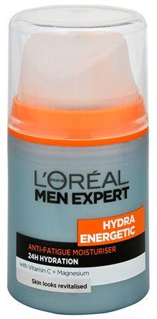 L'ORÉAL PARIS Hydratační krém proti známkám únavy pro muže Hydra Energetic 50 ml