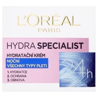 Loreal Paris Nočný hydratačný krém Hydra Special ist (Night Cream) 50 ml