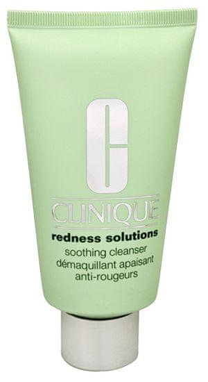 Clinique Upokojujúci čistiaci krémový gél proti začervenaniu pleti Redness Solutions (Soothing Cleanser) 150