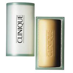 Clinique Arctisztító szappan száraz és extra száraz bőrre (Facial Soap With Dish Extra Mild) 100 g