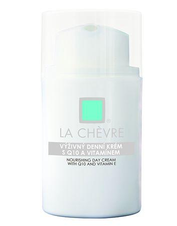 La Chévre Tápláló nappali krém Q10-koenzimmel és E-vitaminnal (mennyiség 50 g)