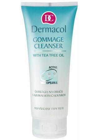 Dermacol Arctisztító gél (Gommage Cleanser with Tea Tree Oil) 100 ml