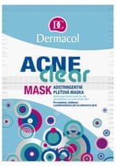 Dermacol Acneclear pórustisztító arcmaszk 2 x 8 g