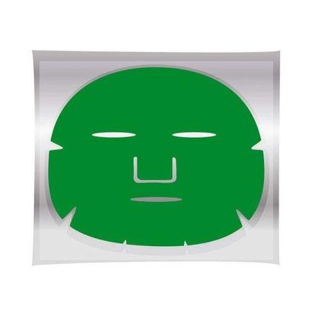 Jednorázové masky Regenerująca i rewitalizująca maseczka na twarz ( Tea Mask) Green ( Tea Mask) 1 pkt
