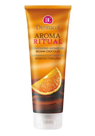 Dermacol Ujednolicenie żel pod prysznic belgijski czekolady pomarańczowe 250 ml