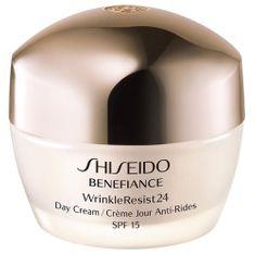 Shiseido Benefiance WrinkleResist 24 ránctalanító nappali krémSPF 15 (Day Cream) 50 ml