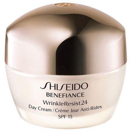 Shiseido Zmarszczek na dzień SPF 24 Benefiance WrinkleResist 15 (Krem na dzień) 50 ml