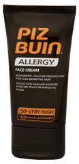 PizBuin Krém na opaľovanie na tvár SPF 50+ (Allergy Face Cream) 50 ml
