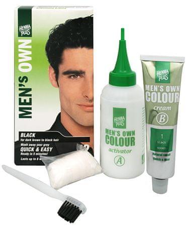 Hennaplus Naturalny kolor włosów dla mężczyzn Men własnością (cień Dark Blond)