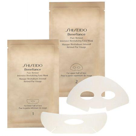 Shiseido Intenzivna Revitalizing maska za obraz Benefiance ( Pure Retinol Intensive Revitalizing Face Mask) 4