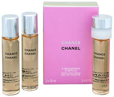 Chanel Chance - EDT - utántöltő (3 x 20 ml) 60 ml
