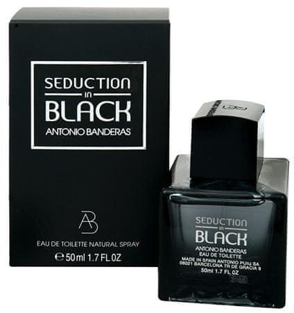 Antonio Banderas Seduction In Black - woda toaletowa 200 ml