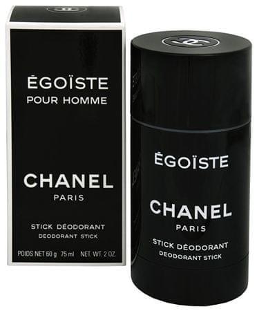 Chanel Egoiste - tuhý deodorant 75 ml