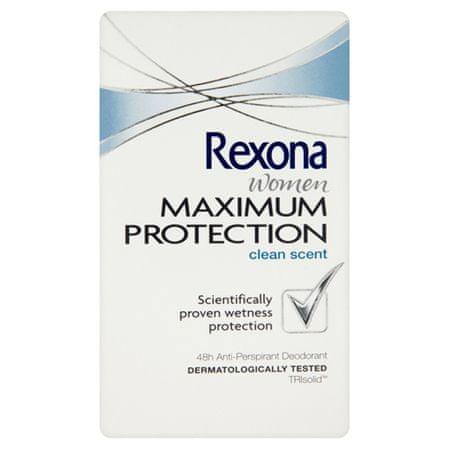 Rexona Dezodorant Kobiety Maksymalna ochrona Clean Scent 45 ml