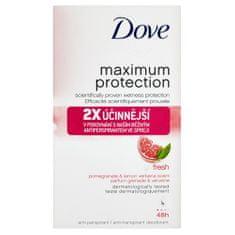 Dove Dezodorant Maksymalna ochrona świeży aromat cytrynowy granat i werbena 45 ml