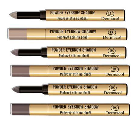 Dermacol Pudrové stíny na obočí (Powder Eyebrow Shadow) 1 g (Odstín č. 2)