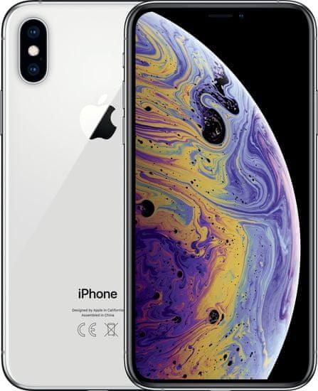 Apple iPhone Xs Max, 256GB, Stříbrný