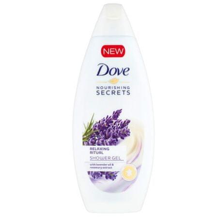 Dove Nourishing Secrets bőrnyugtató tusfürdő (Body Wash) (mennyiség 250 ml)
