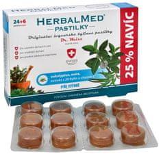 Simply you HerbalMed pastilky Dr. Weiss pri nádche 24 pastiliek + 6 pastiliek ZADARMO