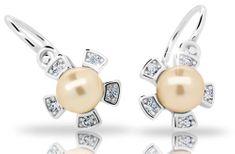 Cutie Jewellery Detské náušnice C2395-10-C1-S-2 striebro 925/1000