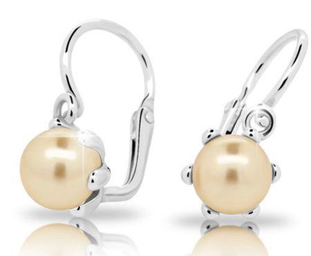 Cutie Jewellery Otroški uhani C2482-10-C1-S-2 srebro 925/1000
