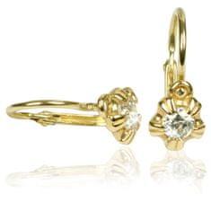 Cutie Jewellery Gyermek fülbevaló C2158-10-1 sárga arany 585/1000