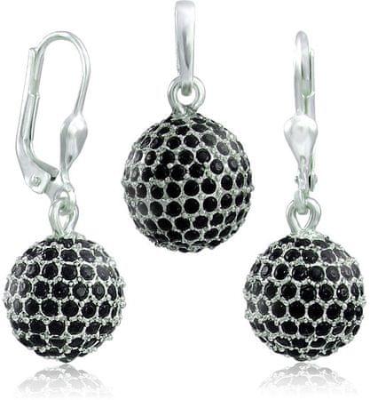 MHM Zestaw biżuterii M4 Jet Ball 34101 srebro 925/1000