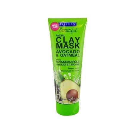 Freeman Clay arcmaszk avokádóval és zab (Arc agyagpakolással Avocado & zabliszt) (mennyiség 15 ml)