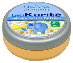 Saloos Bio Karité balzám - Dětský nosní 19 ml