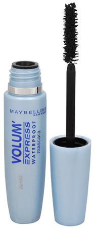 Maybelline Volumennövelő vízálló szempillaspirálVolum Express Waterproof 8,5 ml (árnyalat Black)