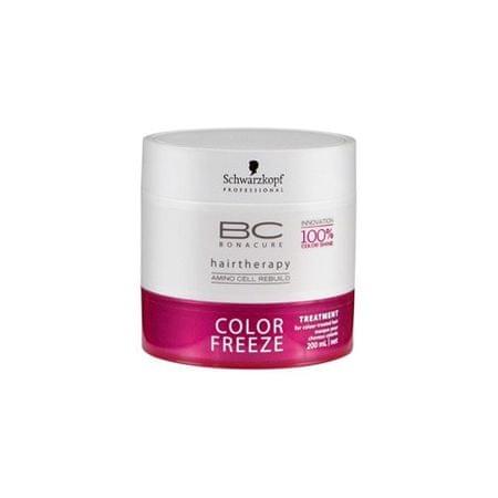 Schwarzkopf Prof. BC Color Freeze színvédő hajpakolás(Color Treatment) 200 ml