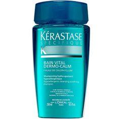 Kérastase Šampón pre citlivú vlasovú pokožku pre normálne až zmiešané vlasy Bain Vital Dermo-Calm(Hypoallergen