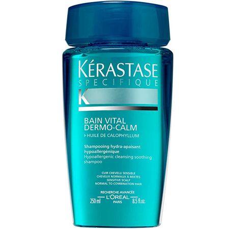 Kérastase Bain Vital Dermo-Calm sampon érzékeny fejbőrre, normál és a vegyes hajra (Hypoallergenic Hydra-Sooth