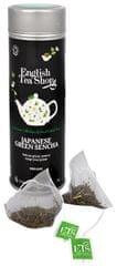 English Tea Shop Japonský zelený čaj Sencha - plechovka s 15 bioodbouratelnými pyramídkami