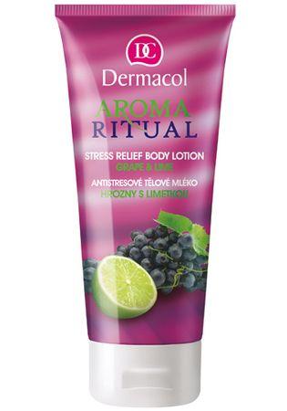 Dermacol Szőlő és lime antistressz testápoló 200 ml