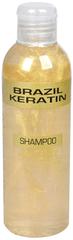 Brazil Keratin Złoty szampon do zniszczonych włosów (szampon Anti-Frizz Gold)