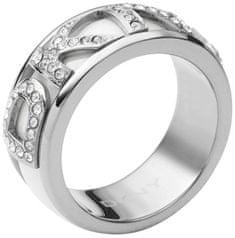 DKNY Kristály felirattal díszített gyűrű NJ1841040