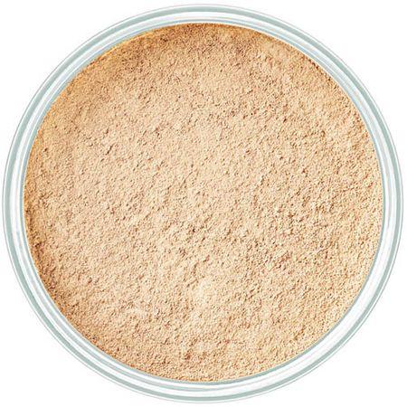 Art Deco Púder állagú alapozó ásványi anyagokkal(Mineral Powder Foundation) 15 g (árnyalat 4 Light Beige)