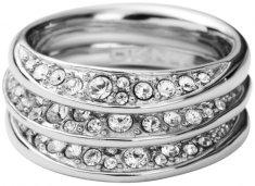 DKNY Kristályokkal díszített gyűrű NJ1853040