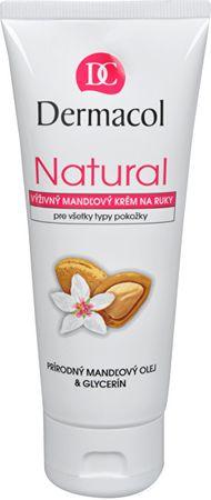 Dermacol Odżywczy krem do rąk Natural migdałowy 100 ml
