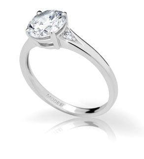 Modesi Zaročni prstan JA17247CZ (Obseg 50 mm) srebro 925/1000