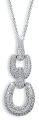Modesi Náhrdelník WAJGK-P (řetízek, přívěsek) stříbro 925/1000