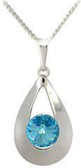 MHM Karen 2 Aquamarine nyaklánc31186 ezüst 925/1000