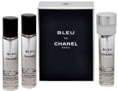Chanel Bleu De Chanel - EDT utántöltő (3 x 20 ml)