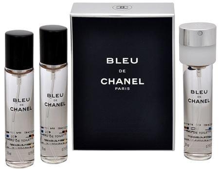 Chanel Bleu De Chanel - EDT utántöltő (3 x 20 ml) 60 ml