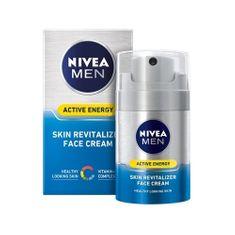Nivea Active Energy Q10 energizující pleťový krém pro muže 50 ml