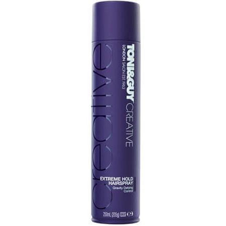 Toni&Guy Rendkívül erős tartást biztosító hajlakk(Extreme Hold Hairspray) 250 ml